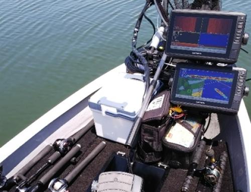 【エコマッププラス95sv 取付事例】レンタルボートにガーミンネットワーク構築